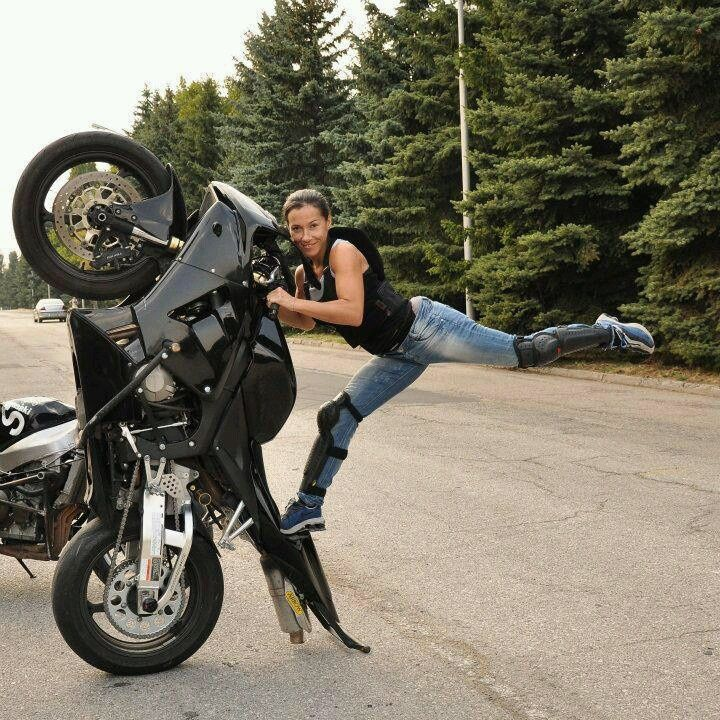 women and stunt bikes - Google Search