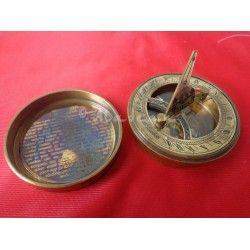 Boot Polish Sundial Compass