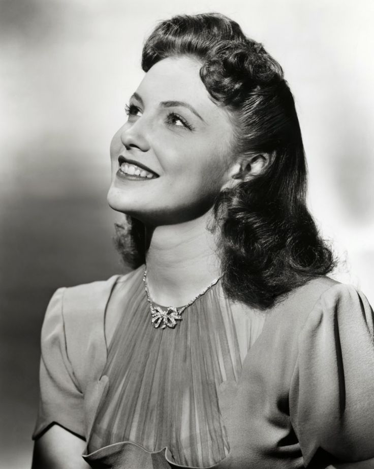 She will be sorely missed: Actress Joan Leslie, one of the few moral actresses; chosen by the real Sgt. York to play his wife. (an actress who did not curse, smoke or drink).