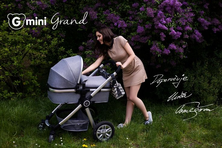 GMINI Kočár kombinovaný Grand stříbrná | Kašpárek Baby