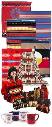 Pendleton Blankets - Pendleton Indian Blanket Patterns - Pendleton blanket coats & accessories