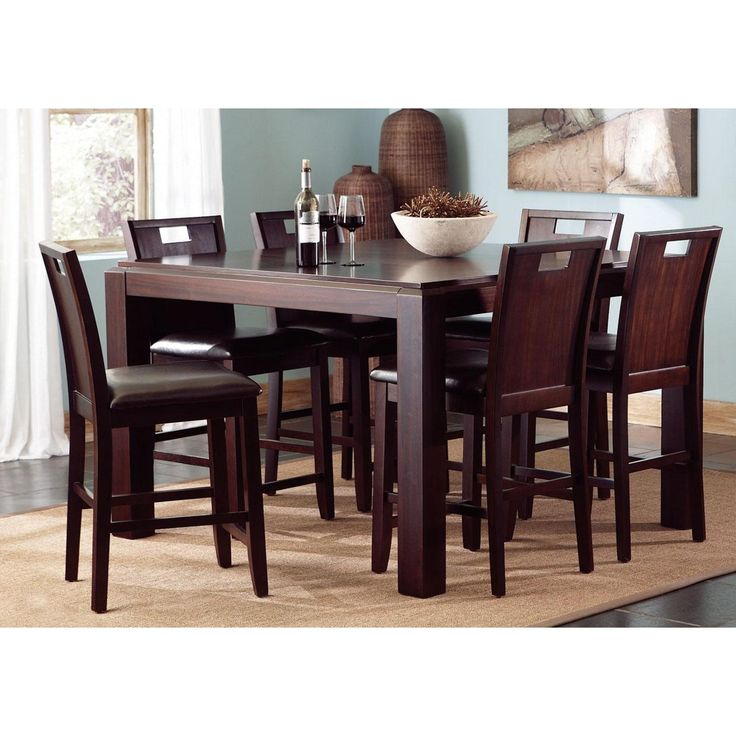 Tall Dining Room Tables best 10+ contemporary dining sets ideas on pinterest | beige