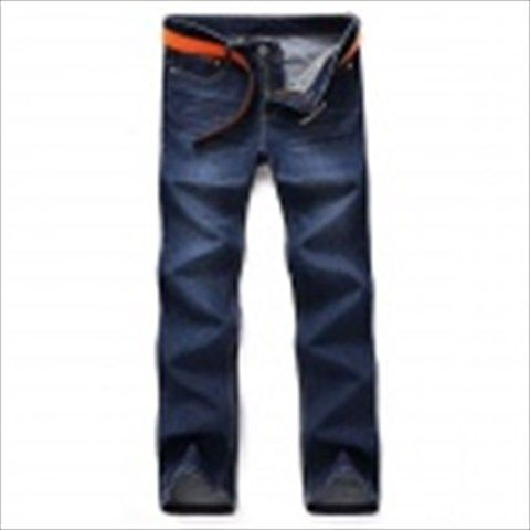 Nuoan 608K Hot Straight Men's Jeans Trousers - Blue (Size 33) $31.34