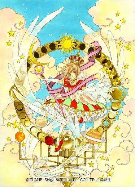 Sakura Kinomoto (木之本さくら) | Cardcaptor Sakura (カードキャプターさくら), CCS, Cardcaptors, Card Captor Sakura | CLAMP