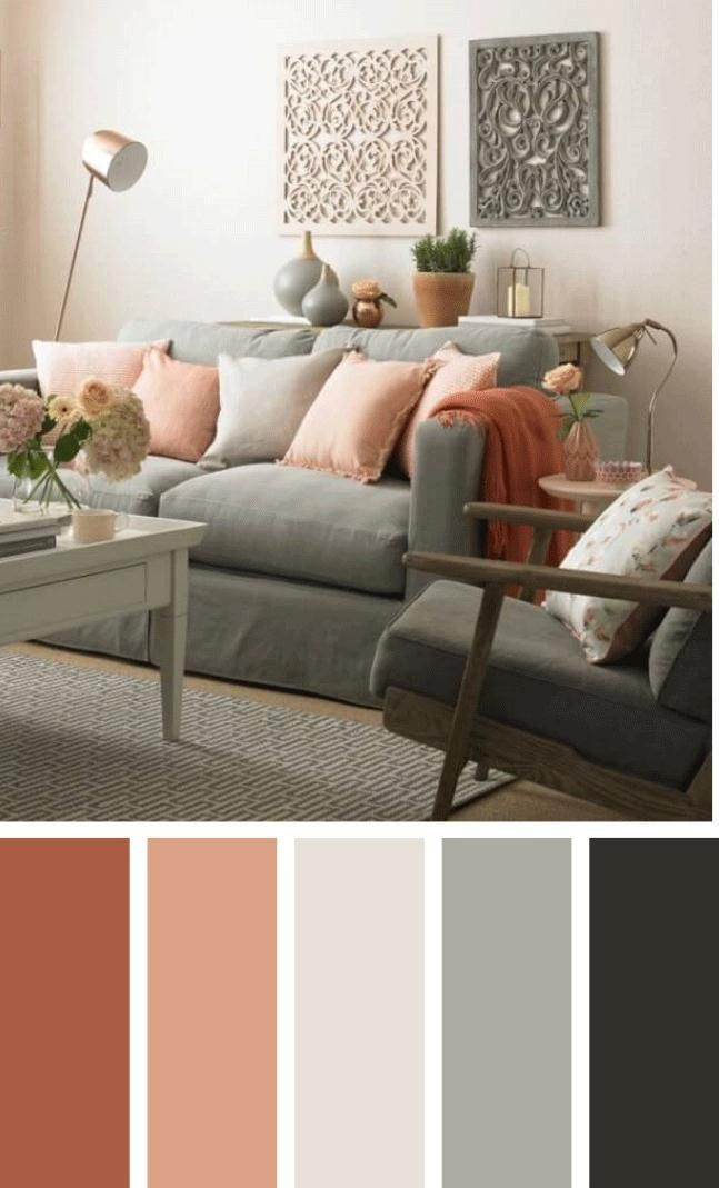 35 Best Living Room Color Schemes Brimming With Character Modern