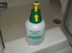 Shower Cleaner - Once a week - No shower mold ever again!