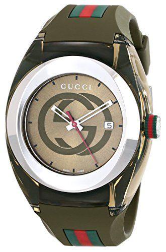 Gucci SYNC XXL YA137106 Khaki Green Swiss Quartz Watch Gucci  Price: $495.00  & FREE Shipping. FREE Returns