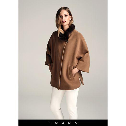 Sıcacık Tüzün paltolarında kürk modası yerini koruyor...  #trend #fashion #moda #stil #style #kürk #palto