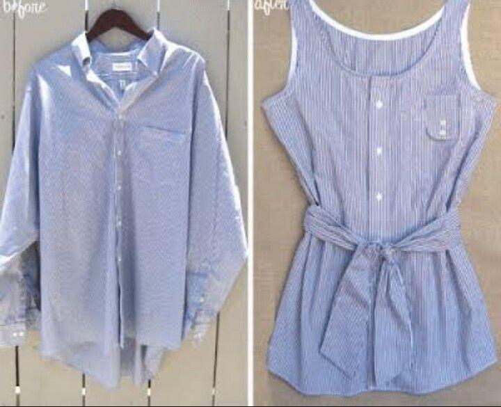 Gömlek, elbise, kendin yap