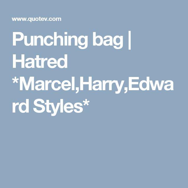 Punching bag   Hatred *Marcel,Harry,Edward Styles*