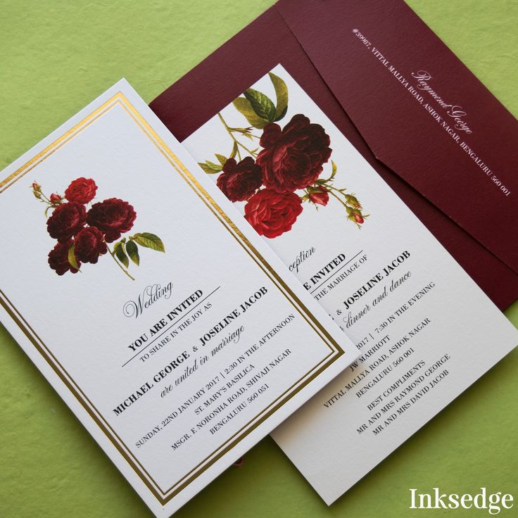 40 best Floral Wedding Invitations images on Pinterest