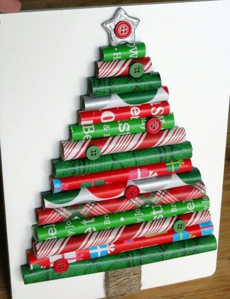 Christmas Tree idea Would look nice for cubicle decorations