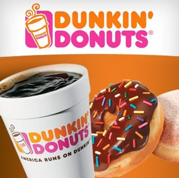 Gluten Free Dunkin Donuts menu