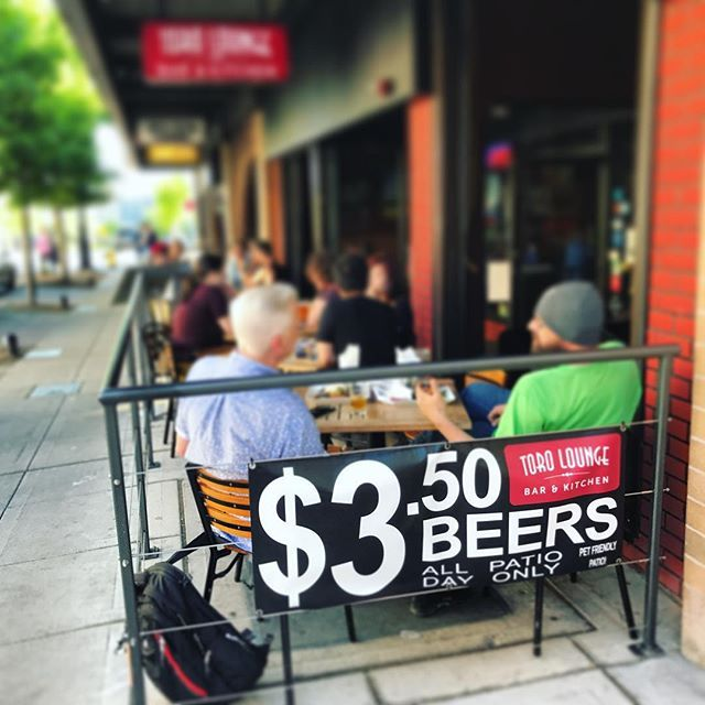 Patio Season Is Here Dont Miss 3 50 Beers And Ciders Daily And The Patio Is Pet Friendly Torolounge Downtownbremerton Patio Enjoyment Beer Pet Friendly