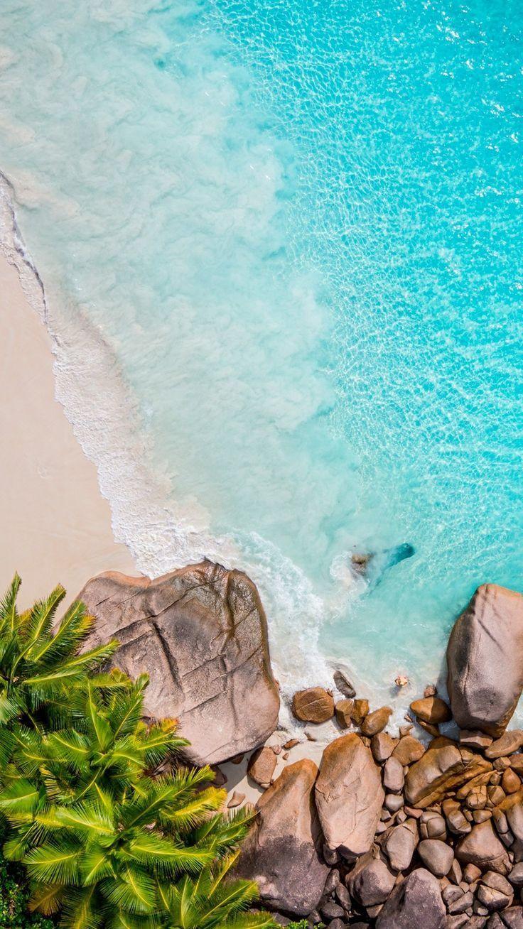 Wonderful Seychelles 4k 4k In 2020 Beach Wallpaper Beach Phone Wallpaper Nature Wallpaper
