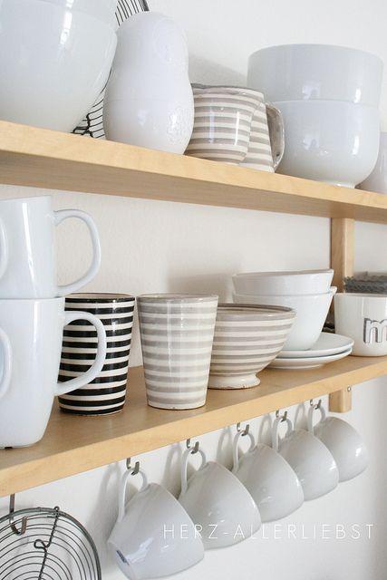 Küche by herz-allerliebst, via Flickr  Küchenträume...