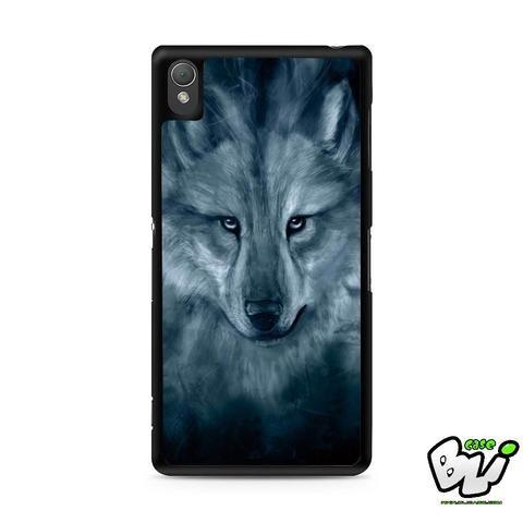 Wolf Painting Sony Experia Z3,Z4,Z5,C3,C4,E4,M4,T3 Case,Sony Z3,Z4,Z5 MINI Compact Case