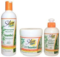 Avanti Silicon Mix Bambu Hair Products Set (16oz) - Dominican Hair Products – DominicanHairCare