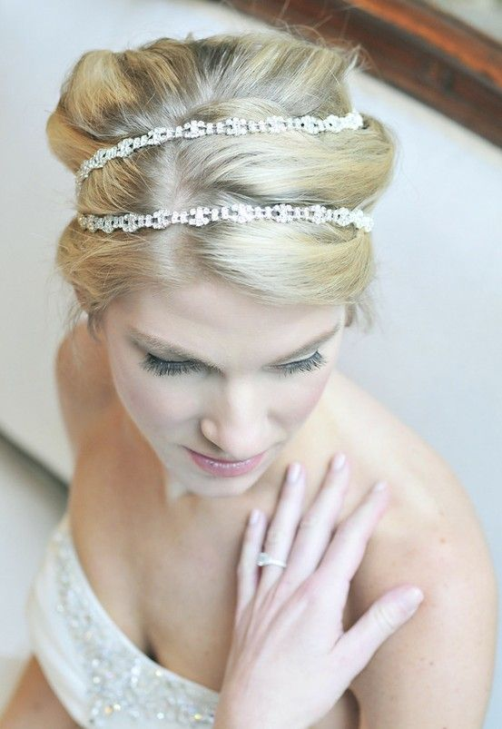 wedding hair accessory - Crystal headpiece