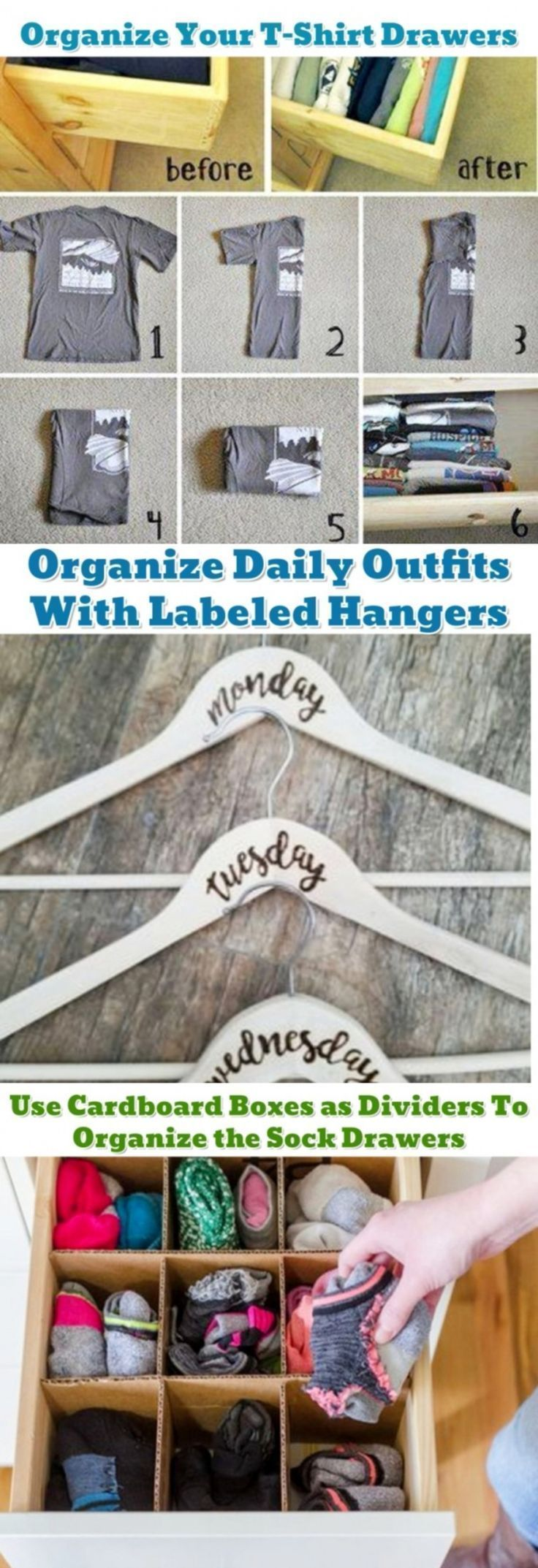 Getting organized and STAYING organized!  DIY organization hacks and ideas that work! Great dorm room organizing ideas too! #gettingorganized #organizationhacks #homeorganizationideas #diyorganizingideas #dormroomideas #bedroomideas