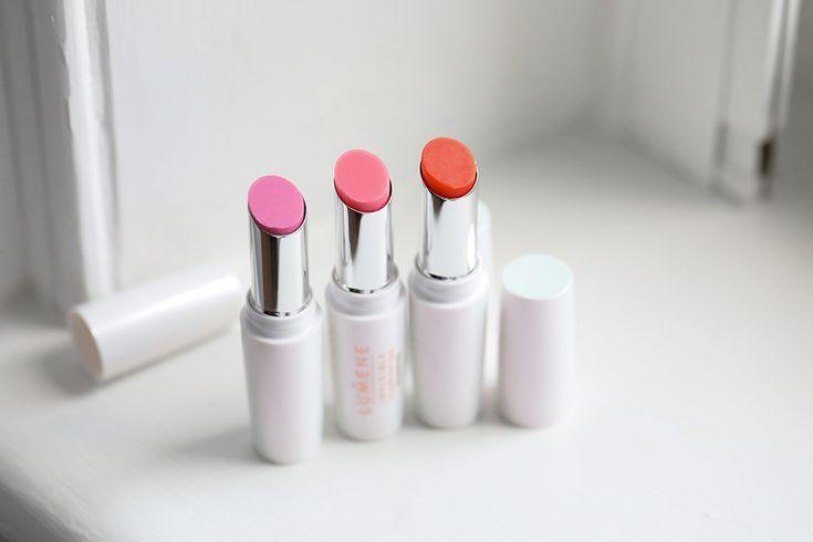 Lumene Invisible Illumination Lip Balms all three delicious shades!