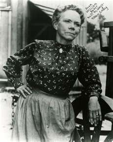 """Loved Ellen Corby as the grandmother on the """"Waltons"""""""