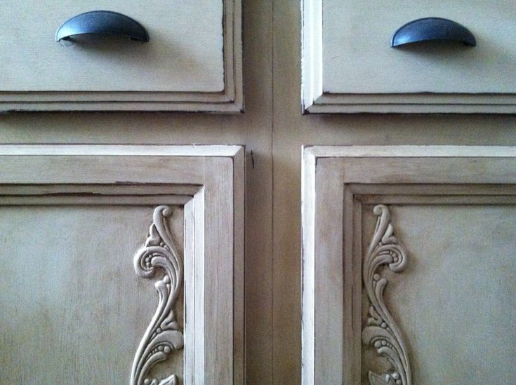 cherry wood bathroom cabinets painted with annie sloan old ochre and