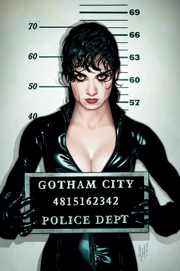 Catwoman - Comic Book Artist: Adam Hughes | Abduzeedo | Graphic Design Inspiration and Photoshop Tutorials