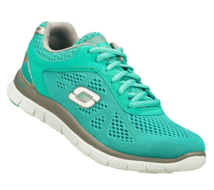 sketchers womens sneakers. 11728 teal skechers shoes memory foam women new sport cool knit mesh train flex #skechers #athleticsneaker | fashion pinterest memory foam, sketchers womens sneakers