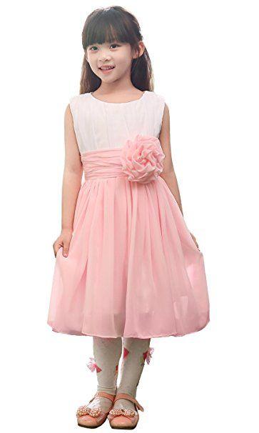 29 best blumenm dchen kleid images on pinterest flower - Rosa kleid kurz ...