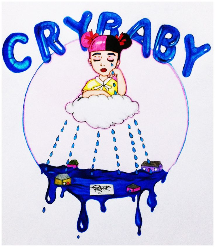 """Drawing & Scribble — Melanie Martinez - Cry Baby My art """"Cry Baby""""..."""