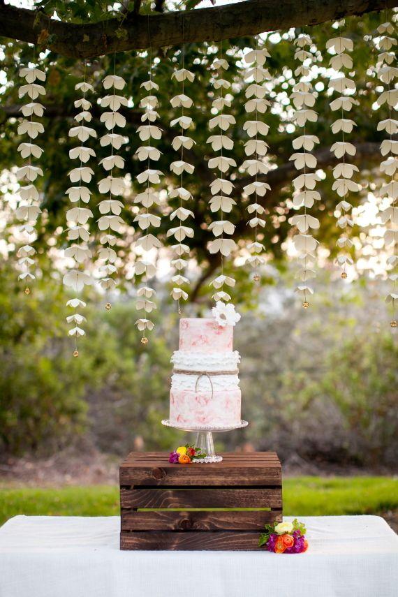Summer garden bridal shower ideas   photos by Love Janet    100 Layer Cake