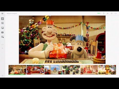 Google+ has reunited Wallace & Gromit in an effort to promote Google Hangout's this Christmas