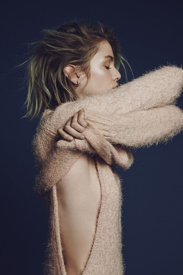 For Love & Lemons Debut Knit Collection is Casually Sensual #fashion trendhunter.com