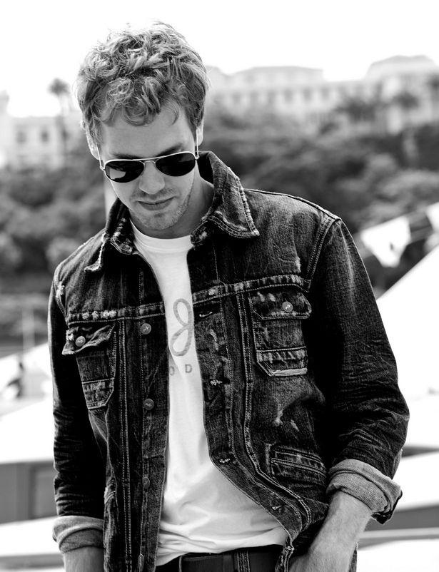 Sebastian Vettel for Pepe Jeans London.