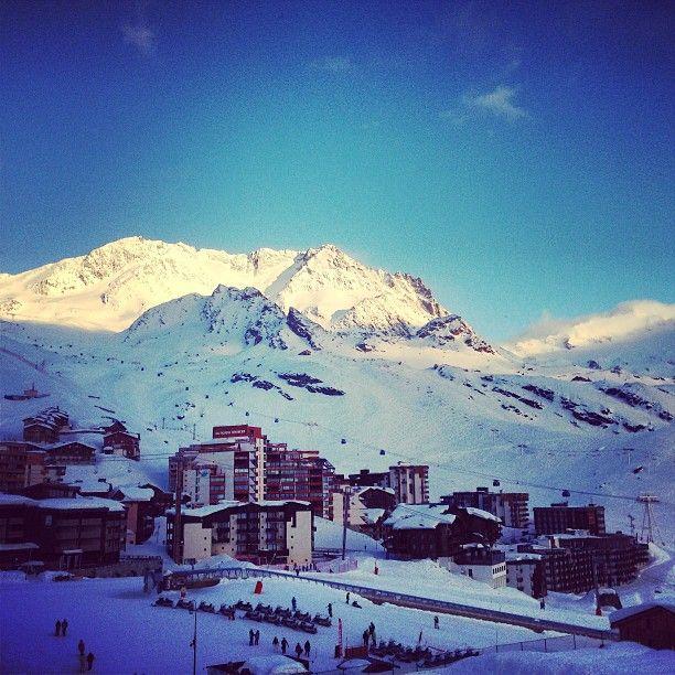 #ValThorens - Glacier de Peclet