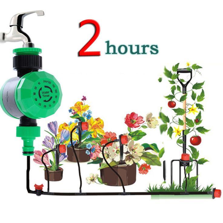 Waterproof Home Automatic Water Timer Plastic Garden Irrigation Controller Water #VKTECH