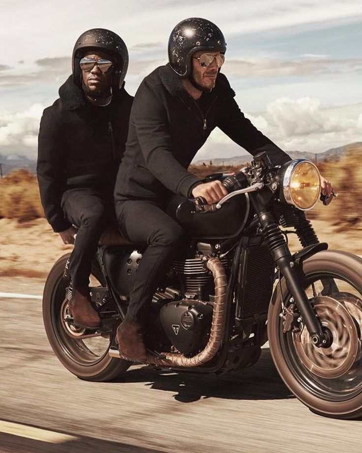 """caferacersofinstagram: """" The dynamic duo @davidbeckham and @kevinhart4real on…"""