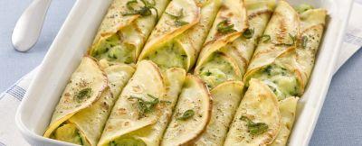 Cannelloni di crespelle con verdure | Sale&Pepe