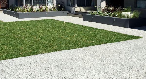 City Limits Landscapes- Landscape Design & Construction- Landscapers Perth- Exposed Aggregate Concrete Driveway