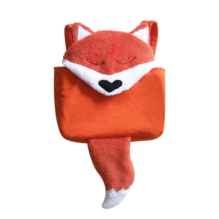 Gaspard, le doudou-cartable 49€ Made in France www.lilibou.fr
