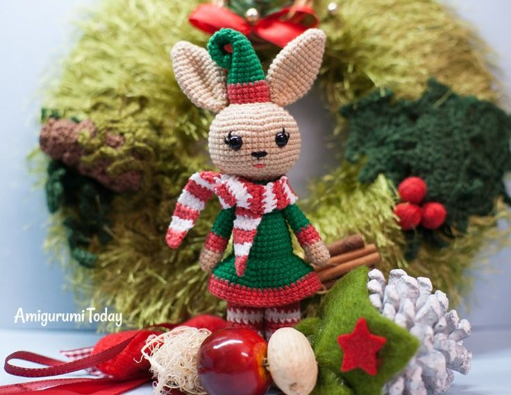 Amigurumis Navideños Patrones Gratis : Mejores 418 imágenes de adornos flores y animales navideños a
