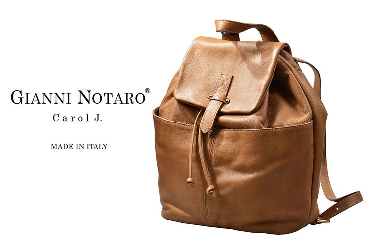 Back bags are BACK and we LOVE IT!! Your leather handbag is unique... is Gianni Notaro! Find your favourite design in Galleria Di Scarpe.