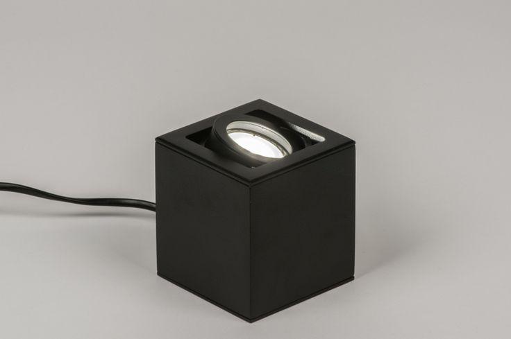 Zwarte Slaapkamer Lamp : ... zwarte kleur. U kunt de spot richten ...