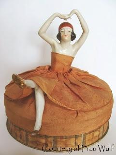 Frau Wulf's Boudoir Doll Blog: German Half Doll Box