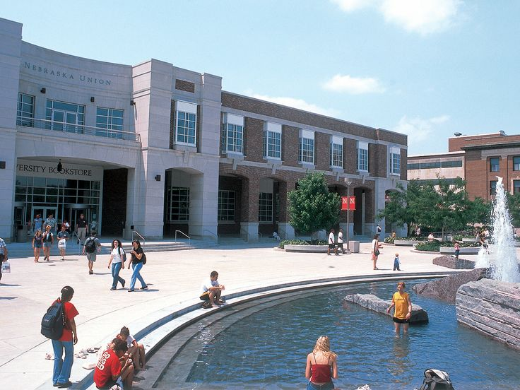 Union Plaza:   http://ucomm.unl.edu/resources/downloads/photos/unl_plaza.jpg