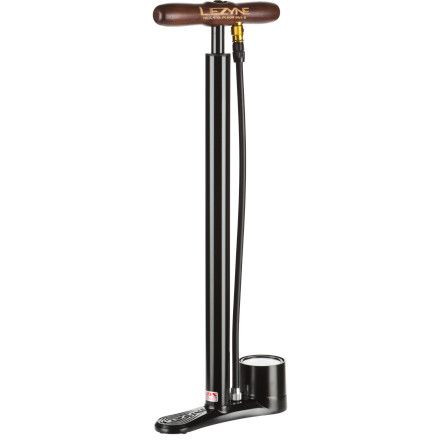 Lezyne's Steel Travel Floor Pump is a solid option for traveling with your bike. With an aluminum base, varnished wood handle, and steel barrel and piston, this travel floor pump was made to withstand the abuse of life on the road. The pump is only 20-inches tall, and every aspect of the pump has been designed to make it easy to fit into a suitcase or bottom of a bike bag. If you travel with your bike, this Lezyne pump was made for you.