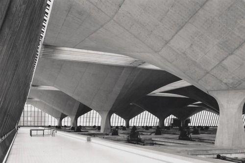 water purification plant, Spijkenisse, Wim Quist, 1959-65