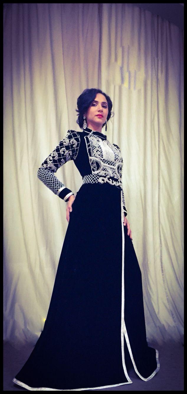 Caftan #kaftan #mode #fashion #hautecouture #tendances #dress #houdabensaadcouture #moroccandesigner #moroccandress #belt