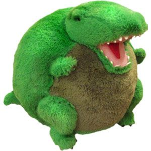 """Squishable T-Rex - comes in mini and micro sizes, as well - A perfect gift to go with Molly Idle's """"Tea Rex"""" children's book"""